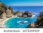 breath taking views along the... | Shutterstock . vector #1073249429