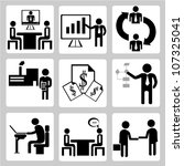 business and organization... | Shutterstock .eps vector #107325041