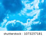 the skies every day and feel... | Shutterstock . vector #1073257181
