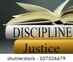 discipline. | Shutterstock . vector #107326679