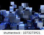 abstact modern background with... | Shutterstock . vector #1073273921