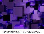 abstract 3d rendering of... | Shutterstock . vector #1073273939