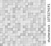 modern abstract geometric... | Shutterstock . vector #1073274191