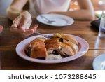 suckling pig asian food | Shutterstock . vector #1073288645