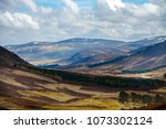 cairngorm mountains and route... | Shutterstock . vector #1073302124