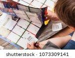 berlin  germany   april 20 ...   Shutterstock . vector #1073309141