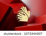luxury golden sign language...