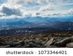 cairngorm mountains and... | Shutterstock . vector #1073346401