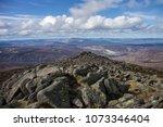 cairngorm mountains. view from... | Shutterstock . vector #1073346404