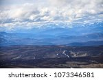 cairngorm mountains. view from... | Shutterstock . vector #1073346581