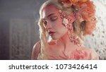 young beautiful girl elf.... | Shutterstock . vector #1073426414