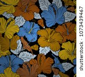 vector striped seamless pattern ... | Shutterstock .eps vector #1073439467