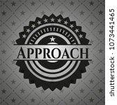 approach black emblem | Shutterstock .eps vector #1073441465