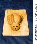 cute bunny bread is a must at... | Shutterstock . vector #1073476571