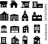 home style icon set | Shutterstock .eps vector #1073476991