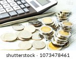 concept of currency trading ... | Shutterstock . vector #1073478461