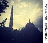 Small photo of Islamic masjid background