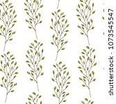 seamless pattern. cute pattern... | Shutterstock .eps vector #1073545547