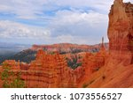 panoramic view the bryce canyon ... | Shutterstock . vector #1073556527