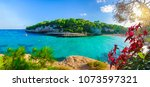 view of  cala llombards ... | Shutterstock . vector #1073597321
