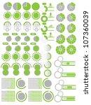 infographics elements 2 green | Shutterstock . vector #107360039