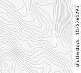 topographic map background... | Shutterstock .eps vector #1073761295