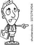 a cartoon illustration of a man ...   Shutterstock .eps vector #1073791904