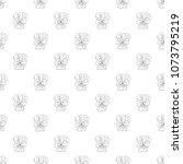 seamless pattern. plant in... | Shutterstock .eps vector #1073795219