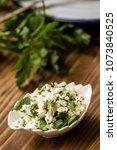homemade delicious turkish... | Shutterstock . vector #1073840525
