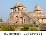 jahaz mahal   ship palace in... | Shutterstock . vector #1073844881