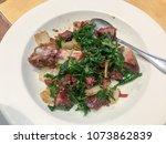 germany crispy pork leg with... | Shutterstock . vector #1073862839
