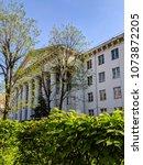 lviv old architecture cityscape ... | Shutterstock . vector #1073872205