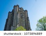 tower sint lievensmonstertoren  ... | Shutterstock . vector #1073896889