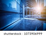 contemporary architecture... | Shutterstock . vector #1073906999