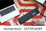 london  united kingdom   apr 15 ...   Shutterstock . vector #1073916089