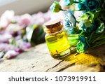 oil. bottle. aroma. blur...   Shutterstock . vector #1073919911