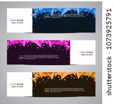 modern banner vector for your... | Shutterstock .eps vector #1073925791