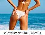 sexy back of a beautiful woman... | Shutterstock . vector #1073932931