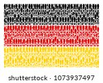 germany state flag collage...   Shutterstock .eps vector #1073937497