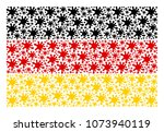 germany state flag composition... | Shutterstock .eps vector #1073940119