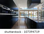 amazing kitchen and living area ...   Shutterstock . vector #107394719