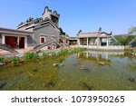 ancient chinese traditional... | Shutterstock . vector #1073950265