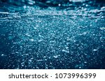abstract water background with... | Shutterstock . vector #1073996399