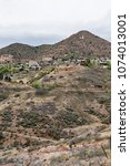 Small photo of view to Jerome mining town in central Arizona