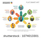 company team process chart... | Shutterstock .eps vector #1074013301