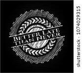 better late than never... | Shutterstock .eps vector #1074029315