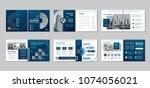 brochure creative design....   Shutterstock .eps vector #1074056021