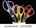 Scissors In A Pot