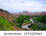zions national park  utah  usa   Shutterstock . vector #1074105461