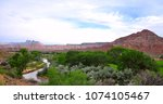 zions national park  utah  usa   Shutterstock . vector #1074105467